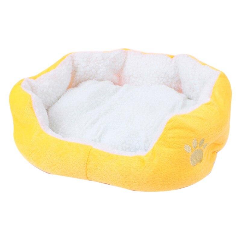 Actief 50*40 Cm Zachte Kat Bed Mini Huis Voor Kat Hond Slaapbank Pluche Cozy Nest Goede Producten Voor Puppy Kat Hond Levert Vouw-Weerstand