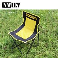 NWIEV 1X Car Outdoor folding chair Leisure fishing Chair For Citroen C4 C5 Renault Duster Megane 2 Logan Captur Alfa Romeo 159