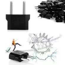 100 Unid Europea EE. UU. AU de LA UE Adaptador de Cargador de Viaje AC Plug Power Outlet Convertidor