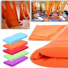 Yoga Hammock Anti Gravity Aerial Flying Training Fitness Swing Elastic Therapy #0626