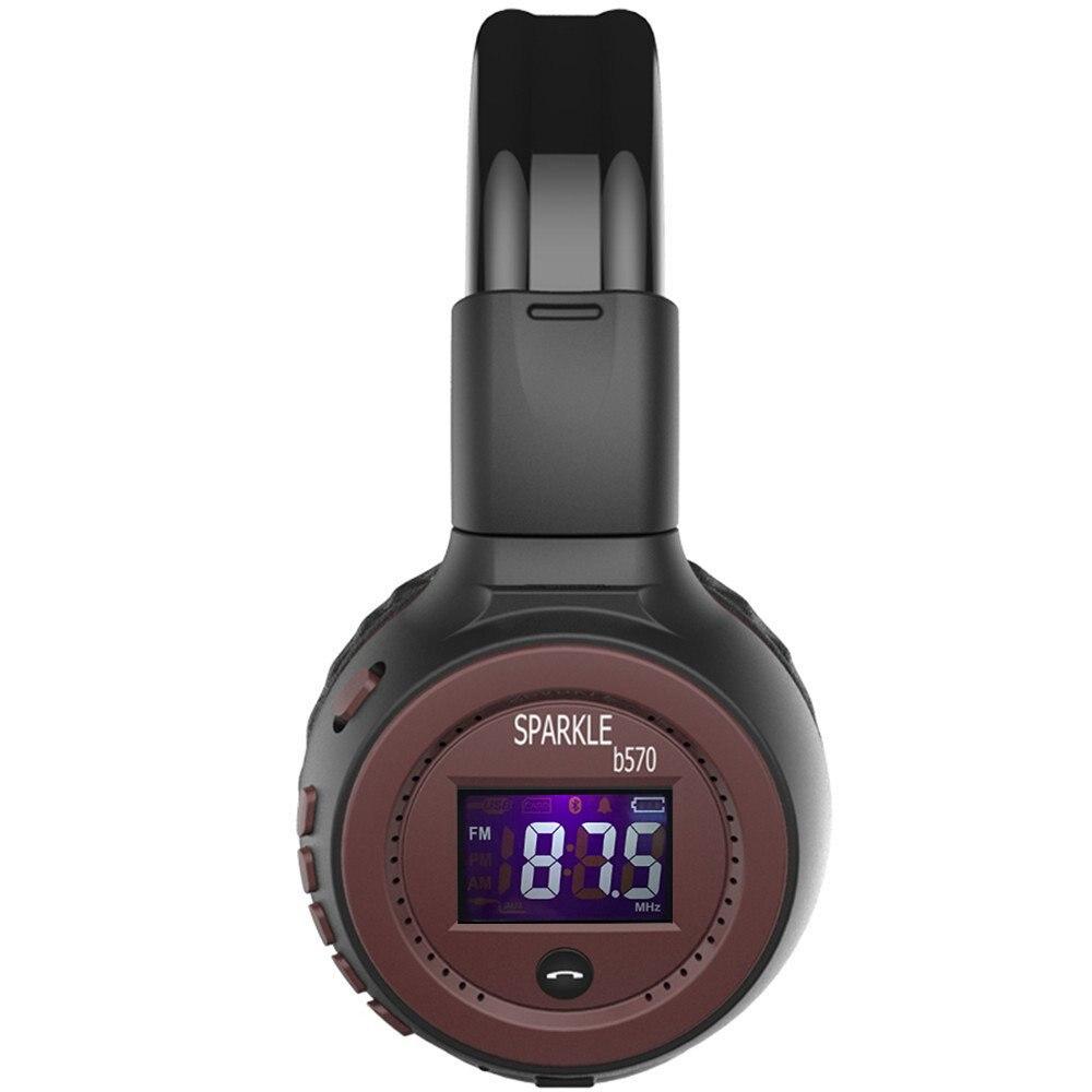 ZEALOT B570 Headset Hoofdtelefoon Bluetooth Draadloze LED-display - Draagbare audio en video - Foto 6