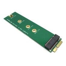 M.2 NGFF SSD a 18 pines tarjeta adaptadora SSD para SSD aplicada para Asus UX31 UX21 SSD tarjeta convertidora placa base