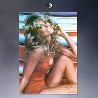 HUGE POSTER ART PRINT ON CANVAS FOR FARRAH FAWCETT POSTER 1976 Original