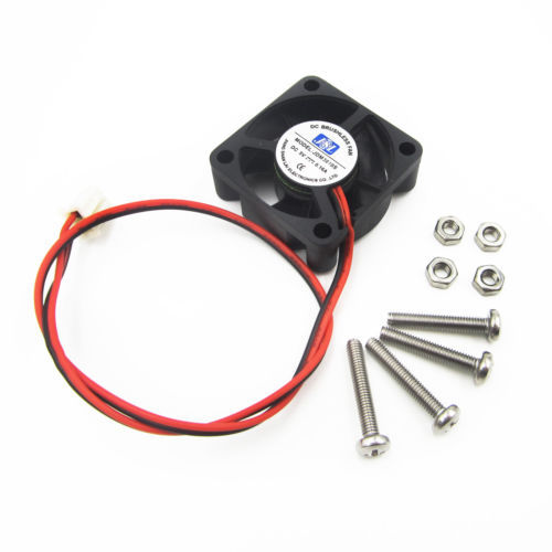 5V 0.16A Cooling Cooler Fan for Raspberry Pi Model B+ / Raspberry Pi 2/3 with Screws Parts