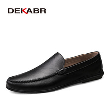DEKABR Italian Mens Shoes Casual Luxury Brand Summer Men Loa