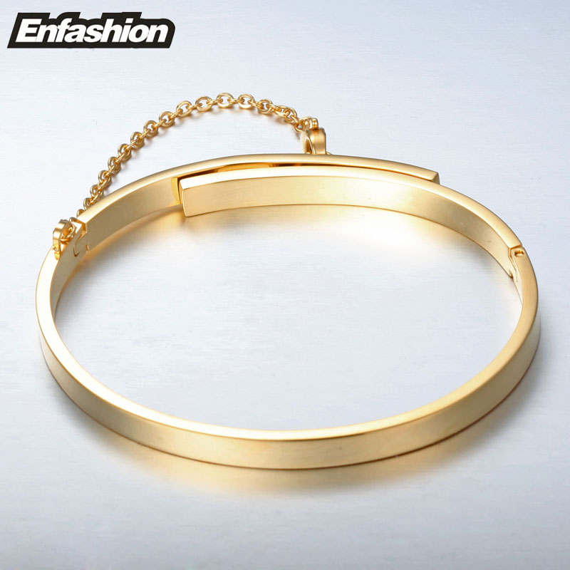 Enfashion Ασφάλεια αλυσίδα - Κοσμήματα μόδας - Φωτογραφία 6