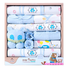 18 pieces	baby clothes boy spring autumn newborn clothes happy bear newborn baby girl clothes cotton newborn outfit kids clothes