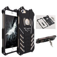 R Just Brand Luxury Batman Design Metal Aluminum Armor Cases For IPhone 5 5C 5S SE