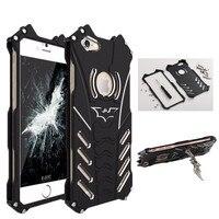 R Just Brand Luxury Batman Design Metal Aluminum Armor Cases For IPhone 5 5C 5S SE