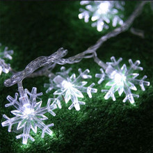 AC220V 5M 28LED Christmas lights snowflake lamp holiday lighting for indoor Home wedding party decoration curtain string lights ac220v 5m 28led crystal bubble water drop string fairy lights for wedding party christmas decorations for home outdoor indoor