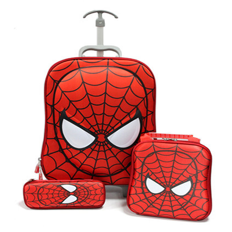 Spiderman Rolling Luggage Reviews - Online Shopping Spiderman ...