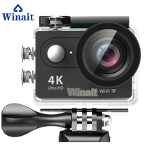 Winait Ultra HD 4K Action Camera H9 2.0 LCD Display Mini Sport Cam 30meters Underwater For Swimming Surfing Diving