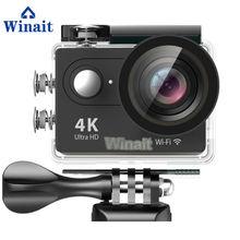 Экшн камера winait ultra hd 4k h9 с ЖК дисплеем 20 дюйма Спортивная