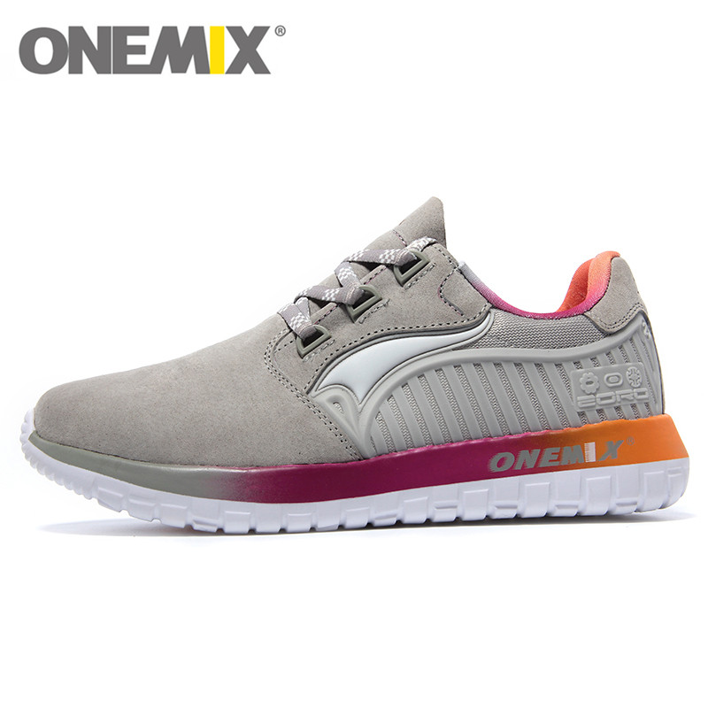 ONEMIXTop Quality Sport Shoes Woman Running Fly Light-hearted Sneaker For Ladies London Olympics Run Size 35-40 цена