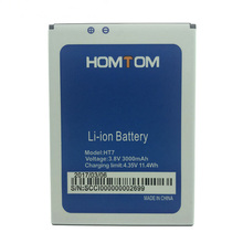 In Stock 100% Original 3000mAh HT7 Battery For HOMTOM HT 7 Pro Smart Phone +Tracking Number