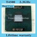 Пожизненная гарантия Pentium двухъядерный T4500 2.3 ГГц 1 м 800 ноутбук процессоры ноутбук процессорный сокет P 478 контакт. компьютер оригинальный