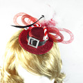 Christmas facinator top hat new year irish Halloween witch cat on headband hair clip festive event party supplies fun decoration