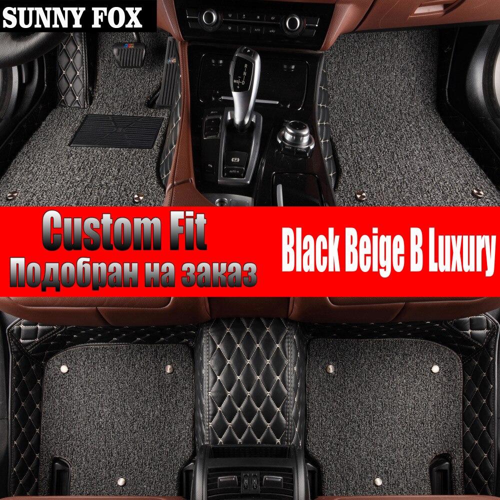 SUNNY FOX Car Floor Mats Made For Hyundai Ix35 Tucson Ix25