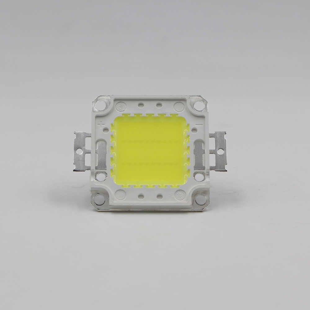COB puce LED lampe 10 W 20 W 30 W 50 W 100 W ampoule puces pour projecteur projecteur jardin carré DC 12 V 36 V intégré LED lumières