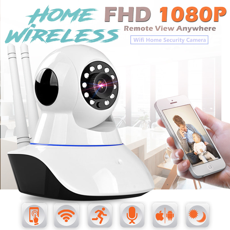 bilder für 1080 P Full HD Wireless IP Kamera CCTV Wi-Fi Videoüberwachung Kamera Home Security Camera System Baby Monitor 2.0MP Hause Alarm