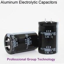 1 шт. EC3B хорошего качества с алюминиевой крышкой, 50В 80v с алюминиевой крышкой, 63В 100 v 10000 мкФ радиального типа DIP Алюминий электролитические конденсаторы допуск 20% 20