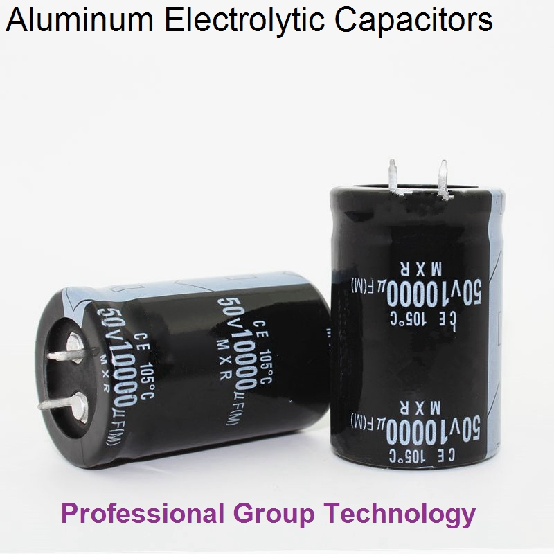 1pcs EC3B Good quality 50v 80v 63V 100V 10000uf Radial DIP Aluminum Electrolytic Capacitors Tolerance 20%
