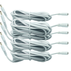 Image 1 - 5 pcs White DC 5V Extension Power Cable Cord 3M 3.5*1.35 For IP Camera EasyN Foscam Vstarcam