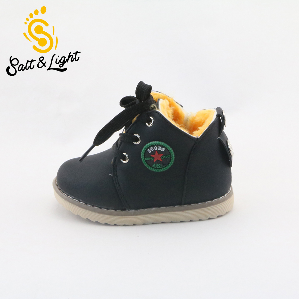 winter 2017 children s casual cotton boots high quality