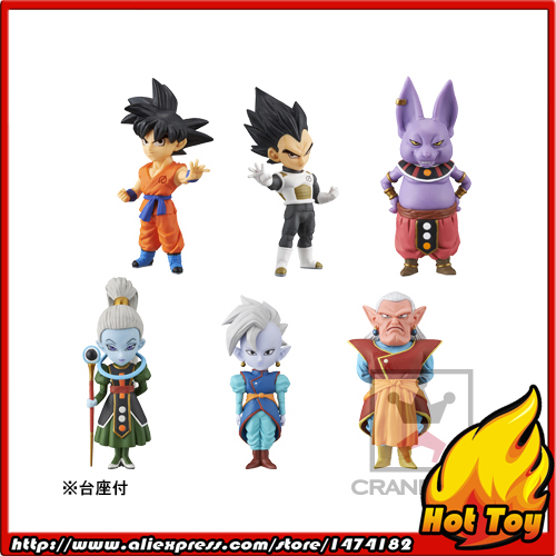 100% Original Banpresto WCF Complete Collection Figure  Vol.1 - Full Set of 6 Pieces from Dragon Ball SUPER original banpresto world collectable figure wcf the historical characters vol 3 full set of 6 pieces from dragon ball z