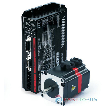 NEMA23 57mm 1.2NM Closed Loop Schrittmotor + Stick kits mit 10000 P/R Encoder Schrittmotor 2 Phase 24VDC 3A 57SMB-HC + 57SDB-H