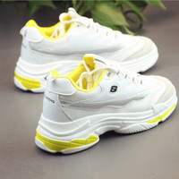 Running breathable mesh Dad Sneakers women 2019 White Colors Women Casual Shoes Lace up mesh shoes woman sport shoes