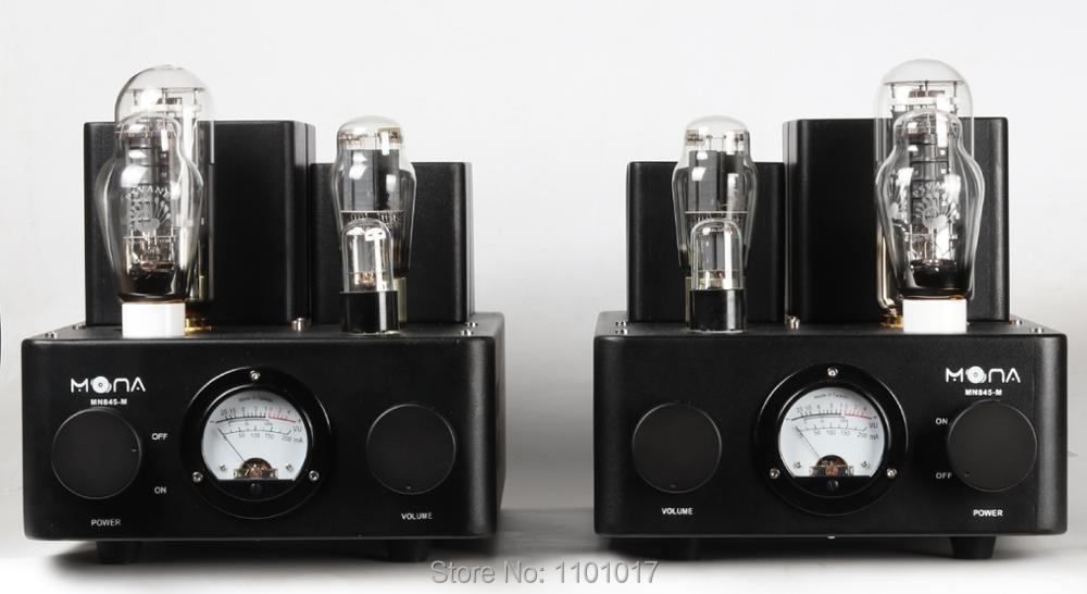 Himing Mona Monoblock 845 tube amplifier with 300B driver HIFI EXQUIS Class A mono block amp RH845300M for Pair-in Amplifier from Consumer Electronics    3