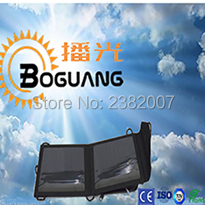 Boguang 1pcs 6v 6W Portable Foldable Solar Panel Charger Solar Phone/LED lights/outdoor package/Tablet/Battery/Folding package