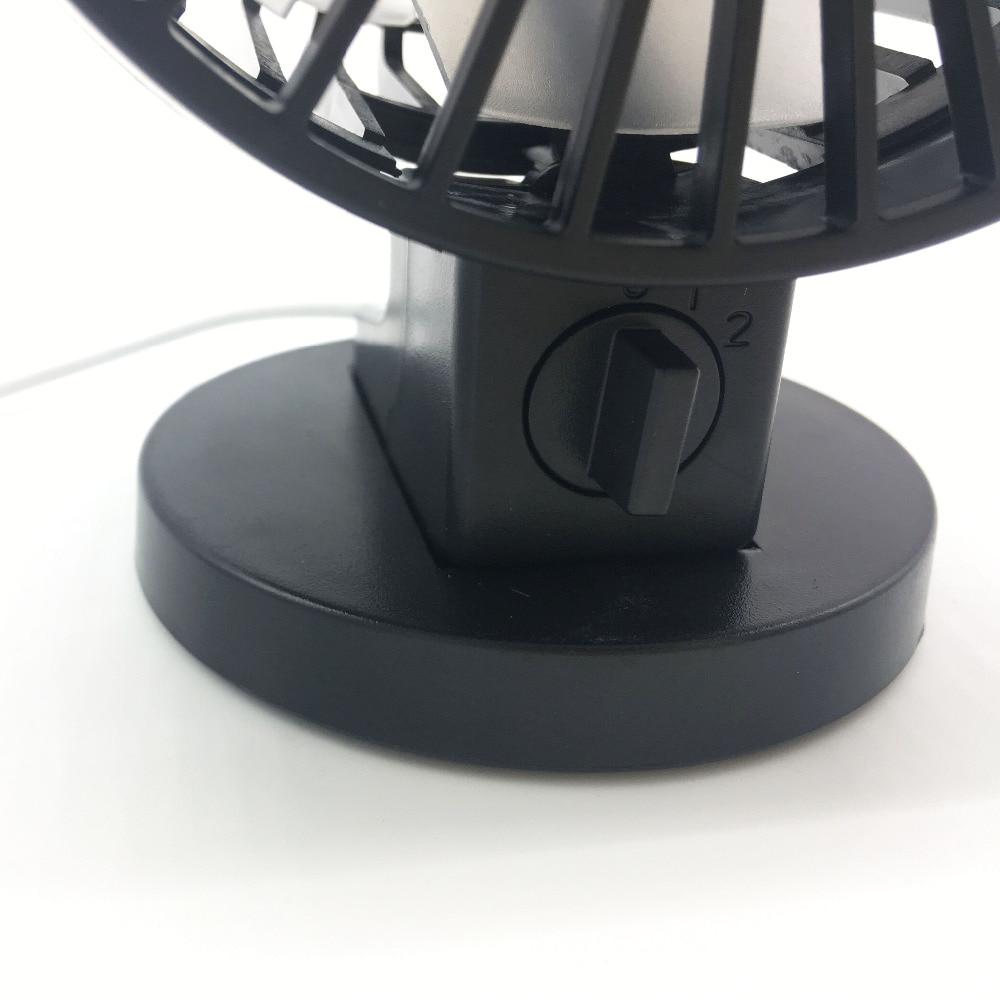 Portable Mini USB Fan Fan Kreatif Home Office ABS Peminat Elektrik - Perkakas rumah - Foto 4