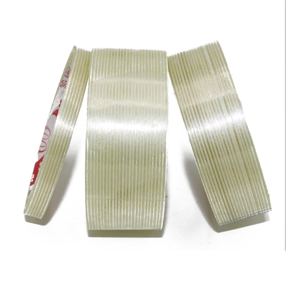 25M Adhesive Fiberglass Tape, Strip Fiber Tape For Packing, Fiber Tape 0.5Cm 1cm 2cm 3cm 4cm 5cm