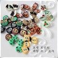 1000 Peças/saco de Argila Fimo Halloween Forma DIY 3D Decorações Da Arte Do Prego Design de Unhas Decoração Art Sticker