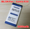2450mAh BL-5H BL 5H For Nokia Lumia 630 635 636 638 RM-977 RM-978 RM 977 978 Mobile Phone Battery BL5H