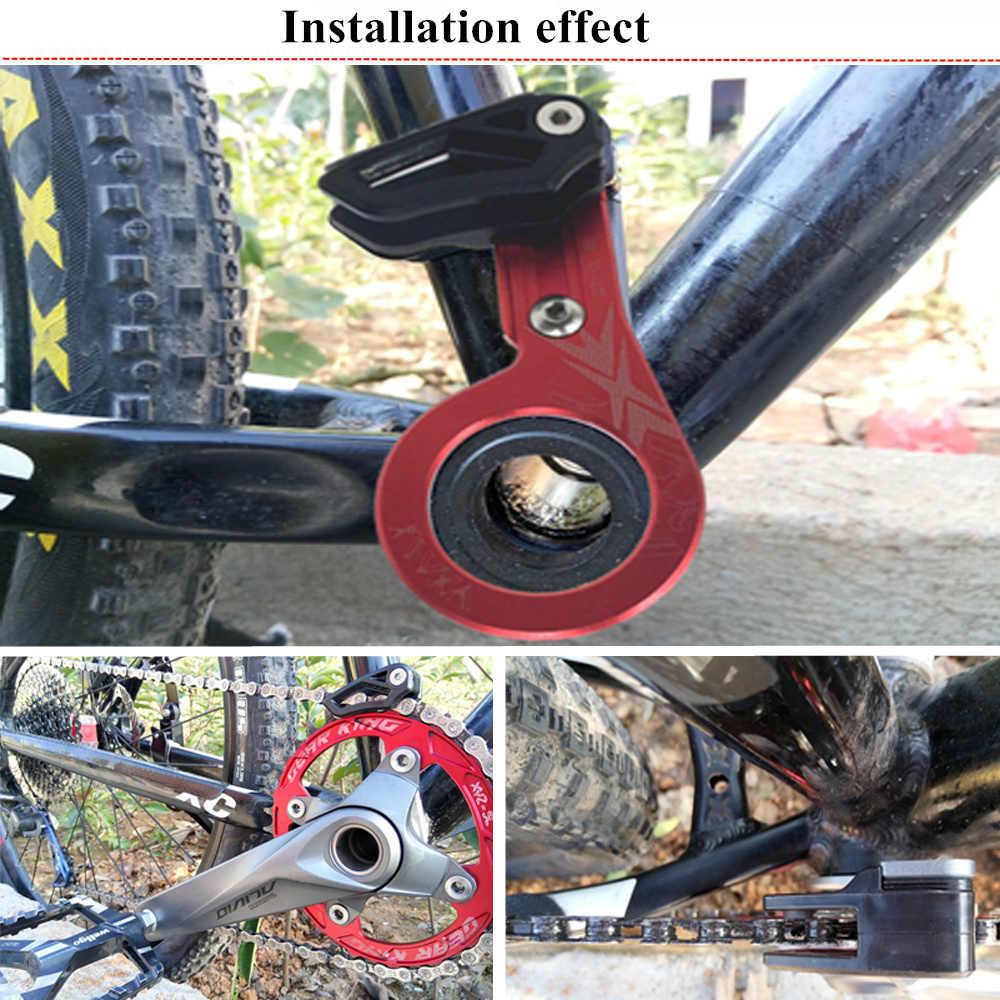 VXM guide de chaîne de vélo protecteur de chaîne de vélo 1X système anneau unique rond 30-40 T/ovale 30 T-38 T vtt guide de chaîne de vélo pièces de vélo
