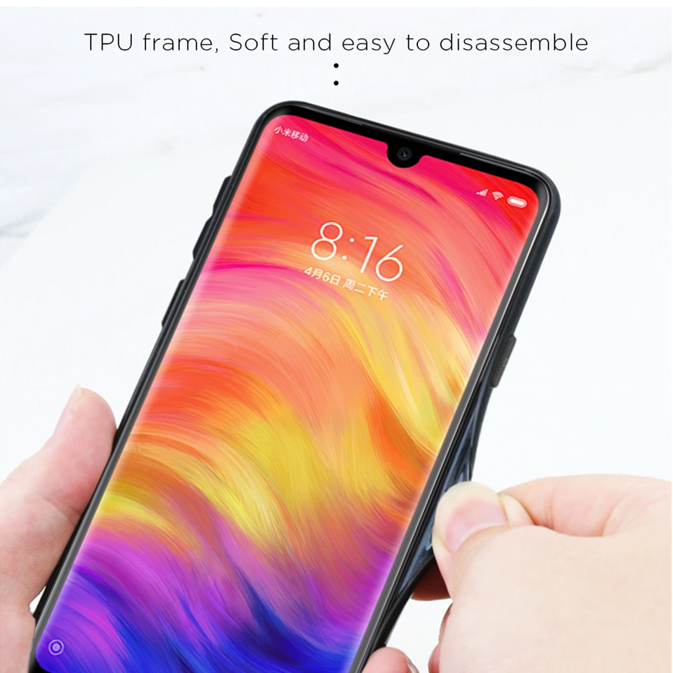 Tempered Glass Case For Xiaomi Redmi K20 Note 5 6 7 Pro 6A Cover Luxury Phone Xiomi Case For Xiaomi Mi 8 A2 Lite Redmi 5 Plus Coque (4)