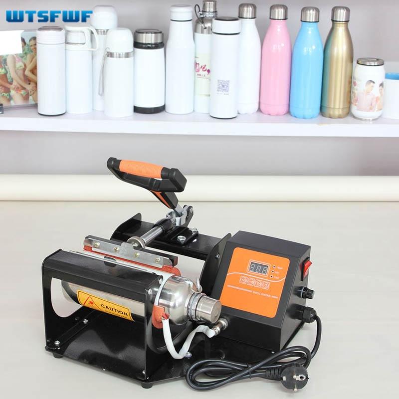 Wtsfwf Portable Digital Vacuum Cup Heat Press Machine 2D Sublimation Heat Press Machine For 350ML 600ML Vacuum Mugs
