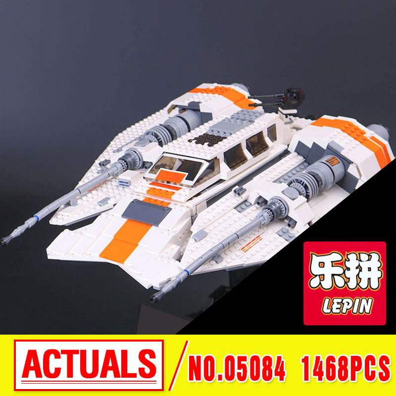 Lepin 05084 1468Pcs Star Series The Re Snowspeederbel Set Children Educational Building Blocks Bricks Toys Model Gifts 10129 War lepin 02020 965pcs city series the new police station set children educational building blocks bricks toys model for gift 60141