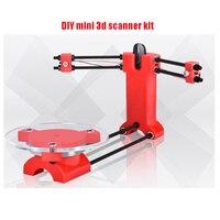 Home use DIY mini 3d scanner kit, designer and DIY basic engineer scanner set diy 3d Scanning