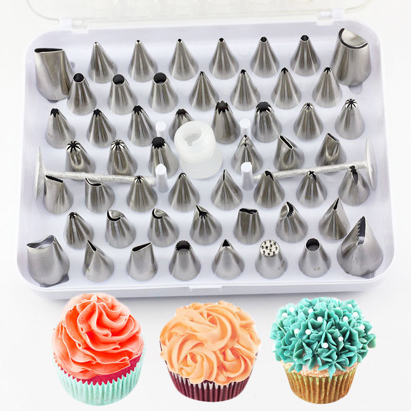 Stainless Steel Russian Sets Icing Piping Nozzles Pastry Decoration Tips Cake Cupcake Decoration Kitchen Baking Accessories Tool