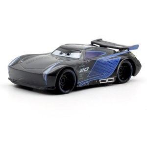 Image 2 - Figuras de personajes de Disney Pixar Cars 3 para niños, 22 estilos, Jackson Storm, Cruz Ramirea, coches de plástico de alta calidad, modelos de dibujos animados, regalos de navidad