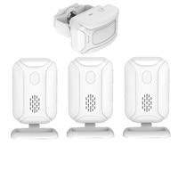 Home Shop Motion Sensor Doorbell Welcome IR Infrared Distance Reach 280 Meters Detection distance 0 6m,Chime Radio Door Bell