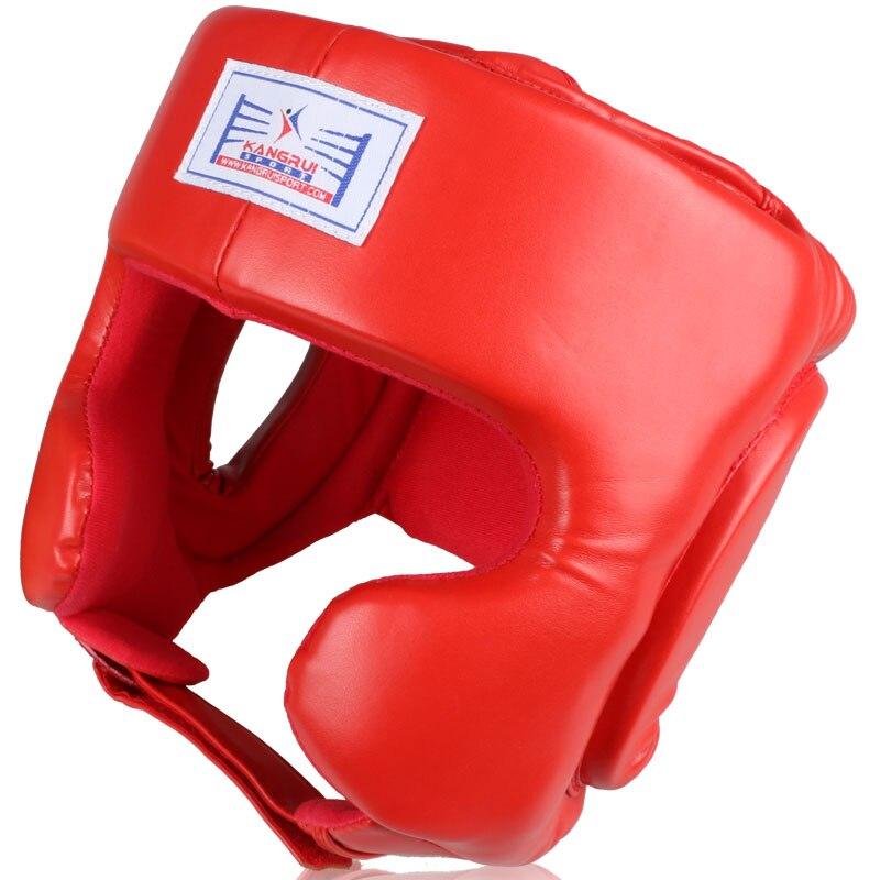 MMA Boxhelm Profi Kopfbedeckung Kickboxen schwarzer Kopf - Sportbekleidung und Accessoires - Foto 2