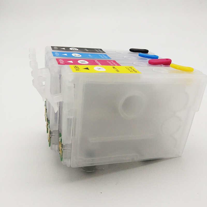 Vilaxh T2991-T2994 için doldurulabilir mürekkep kartuşu Epson 29 29xl ifade XP-235 XP-332 XP-335 XP-432 XP-435 yazıcı ark çip