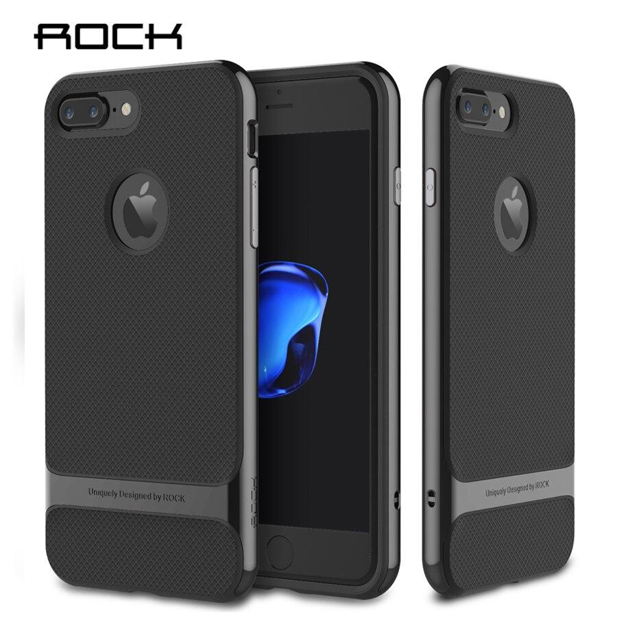 Roca Royce TPU + PC para el iPhone 7/7 Plus, caso marco de la PC ...
