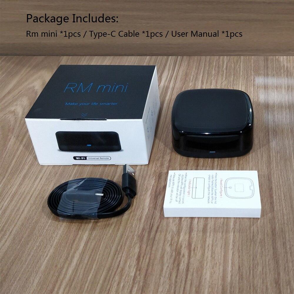 Rm mini Wifi IR Remote controller,Hub,Tuya Universal remote control AC,TV  box Voice Control via Alexa ,Google Home ,IOS,Android