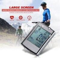 Heart rate monitoring bike computer wireless speedometer bicycle velocimetro velo gps bike velocimetro odometro computer